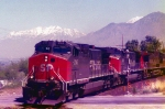 Southern Pacific's RVASM.Spanish Fork,Utah May 11,1996.